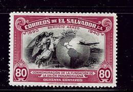 Salvador C72 MHR 1940 Issue - El Salvador
