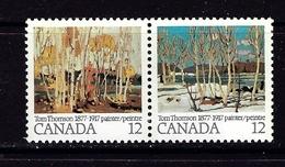 Canada 734a NH 1977 Pair - Canada