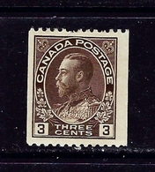 Canada 134 MH 1921 Coil Issue - Canada