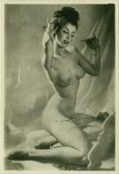 1970s VINTAGE RISQUE AMATEUR PHOTO -  NAKED WOMAN (471) - Bellezza Femminile Di Una Volta < 1941-1960