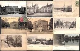Ixelles - Lot 10 Cartes (maison Communale, Abbaye De La Cambre, Précurseur, Colorisée...) - Elsene - Ixelles