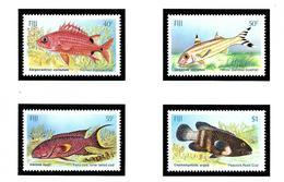 Fiji 536-39 MNH 1985 Fish - Fiji (1970-...)