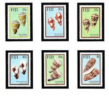 Fiji 564-69 MNH 1987 Cone Shells - Fiji (1970-...)