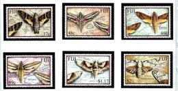Fiji 908-13 MNH 2001 Moths - Fiji (1970-...)