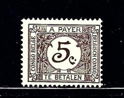 Belgian Congo J1 MH 1923 Postage Due - Belgian Congo
