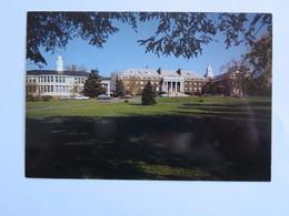 Carte Postale : USA, Connecticut, WALLINGFORD St. John Hall & The Hill House - Etats-Unis