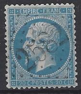 Francia U   22 (o) Napoleon III. 1862 - 1862 Napoleone III