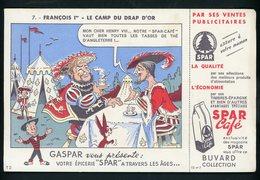 BUVARD:  EPICERIE SPAR - FORMAT  13,5X21 Cm - Buvards, Protège-cahiers Illustrés