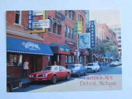 Carte Postale : USA, Michigan DETROIT Greektown, Grecian Gardens - Detroit