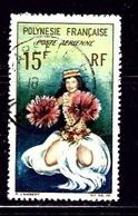 French Polynesia C30 Used 1964 Tahitian Dancer - French Polynesia