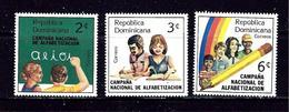 Dominican Republic 876-78 MH 1983 Set - Dominican Republic
