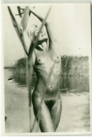 1970s VINTAGE RISQUE AMATEUR PHOTO -  NAKED WOMAN (477) - Bellezza Femminile Di Una Volta < 1941-1960
