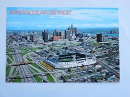Carte Postale : USA, Michigan  Spectacular DETROIT, Stadium - Detroit