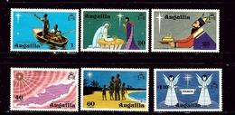 Anguilla 205-10 MNH 1974 Christmas - Anguilla (1968-...)