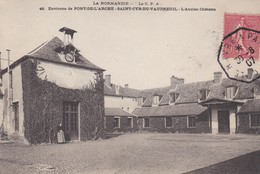 Environs De Pont De L'arche  SAINT CYR DU VAUDREUIL Belle Obliteration Hexagonale Ambulant - France