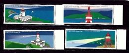 Portugal-Azores 437-40 MNH 1996 Lighthouses - Açores