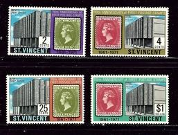 St Vincent 312-15 MNH 1971 Set - St.Vincent (1979-...)