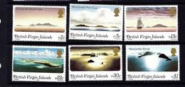 Virgin Is 395-400 MNH 1980 Ocean Scenes - British Virgin Islands