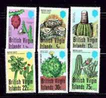 Virgin Is 350-55 MNH 1979 Cactus - British Virgin Islands
