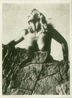 1970s VINTAGE RISQUE AMATEUR PHOTO -  NAKED WOMAN (479) - Bellezza Femminile Di Una Volta < 1941-1960
