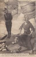 Satirique - Vive La République Allemande 1914- Marianne -Kaiser- Carte Photo - Satiriques