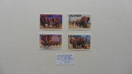Afrique > OUGANDA: 4 Timbres  Neufs N° 316 /19 - Ouganda (1962-...)