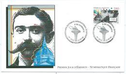 Enveloppe 1er Jour France FDC Pierre De Coubertin 1994 - FDC