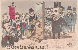 Satirique - CORDON! S'IL VOUS PLAIT!!  Bloc Parlementaire .Illustrateur Rostro Septembre 1903 - Satiriques