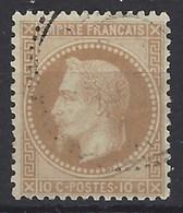 Francia U   28 (o) Napoleon Coronado. 1863 - 1863-1870 Napoléon III Lauré