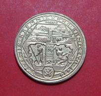 CZECHOSLOVAKIA KREMNITZ TOKEN 1934, 25 Mm. - Elongated Coins