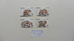 Afrique >  Erythrée  :4 Timbres Oblitérés N° 282/85 - Erythrée