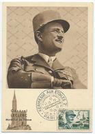 Entiers Postaux France General Leclerc1954 - Entiers Postaux
