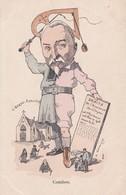 COMBES. Anti-Clerical - Séparation De L'Eglise Et De L'Etat.Maçonnique-Franc Maçonnerie. - Personnages