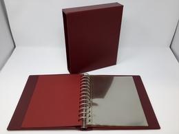 Lindner Ringbinder/Kassette 1130 Rot Mit 20 Blatt 819 (DIN A5) Gebraucht (Z1559) - Albums & Reliures