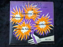 M. De Curtis Et Son Orchestre Tango: Tangos: Campanas Del Sur/45 Tours Egex 4595 - World Music