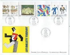 Enveloppe 1er Jour France FDC Relations Culturelles 1994 - FDC