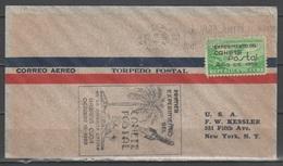 Cuba 1938 - Esperimento Di Posta Con Razzo - Lettera Per USA        (g5494h) - Cuba