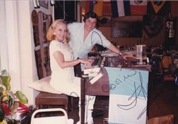 AMBAR LA FOX, ACTIZ VEDETTE, CIRCA 1980s PHOTOS ORIGINAL SIZE 9x13cm - BLEUP - Foto Dedicate
