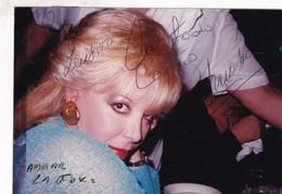 AMBAR LA FOX, ACTIZ VEDETTE, CIRCA 1985s PHOTOS ORIGINAL SIZE 9x13cm - BLEUP - Foto Dedicate