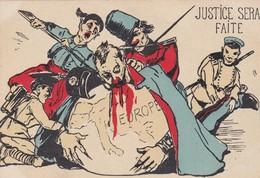 Satirique - JUSTICE SERA FAITE - Anti-Kaiser - Europe - Satiriques