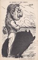 Le Kaiser Et Son Ombre- La Caricature Polonaise, 22-  Illustrateur B.Bal -1914 - Personnages
