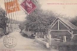 PRESSAGY LE VAL  Le Lavoir Et La Route - France