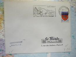 Guétary Au Coeur De La Côte Basque - Postmark Collection (Covers)