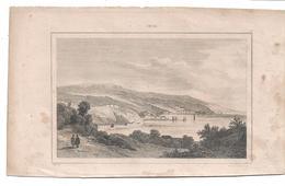CHILE - VALPARAISO  C/1830's  S. CHOLET Fine Engraving - Estampes & Gravures