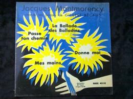 Jacques Montmorency Chante Les Succès De Gilbert Bécaud/ 45 Tours Egex 4518 - Vinyl Records
