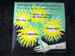 Jacques Montmorency Chante Les Succès De Charles Aznavour/ 45 Tours Egex 4519 - Vinyl Records
