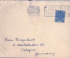1935 , IRLANDA , SOBRE CIRCULADO  ( DUBLIN ) BAILE ATHA CLIATH - COLONIA - 1922-37 Stato Libero D'Irlanda