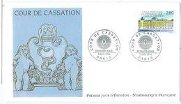 Enveloppe 1er Jour France FDC Cours De Cassation 1994 - FDC