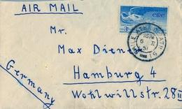 1951 , IRLANDA , SOBRE CIRCULADO  ( DUBLIN ) BAILE ATHA CLIATH - HAMBURGO - Cartas