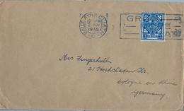 1935 , IRLANDA , SOBRE CIRCULADO  ( DUBLIN ) BAILE ATHA CLIATH - COLONIA - 1922-37 Estado Libre Irlandés